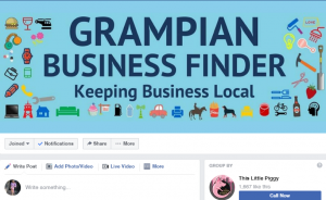Facebook Pages can join Facebook Groups - Grampian Business Finder
